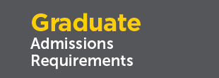 Graduate student admissions requirements