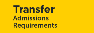 Transfer Student Admissions Requirements