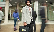 marketing student at bowie state university