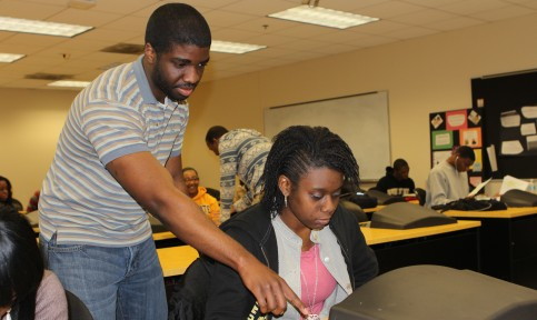 psychology students at bowie state university