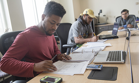 accounting students at bowie state university