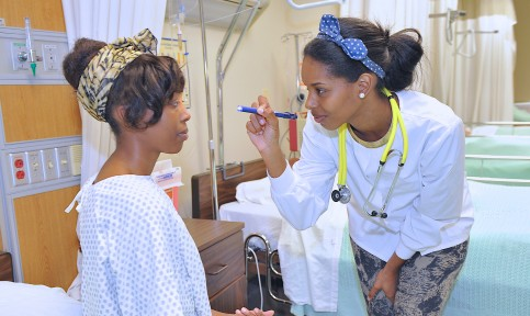 nursing students at bowie state university