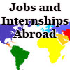 jobs and internships abroad graphic