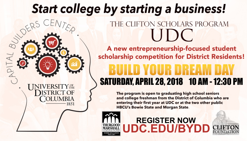 Build Your Dream Day graphic - April 28 from 10am - 12:30pm