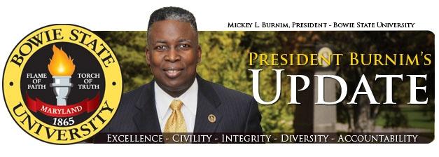 President Burnim's Update header