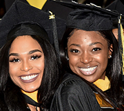 graduates at the bowie state university commencement ceremony