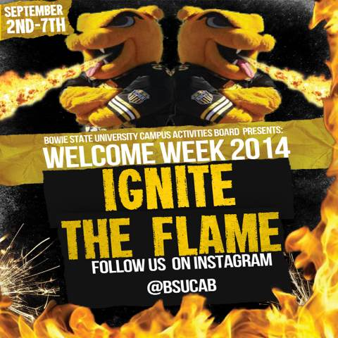 Welcome Week Flier