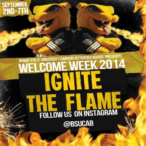 Welcome Week Flier