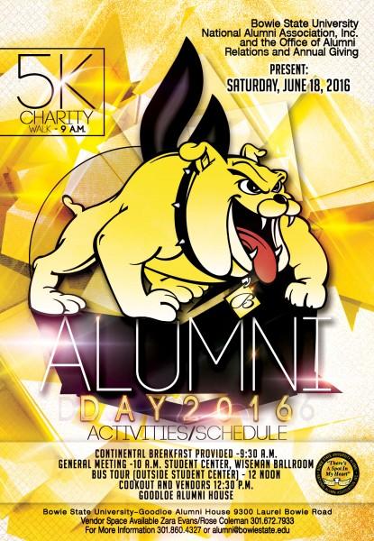alumni day flyer