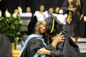 student-faculty-hug