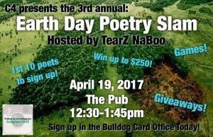 Earth Day Poetry Slam 2017