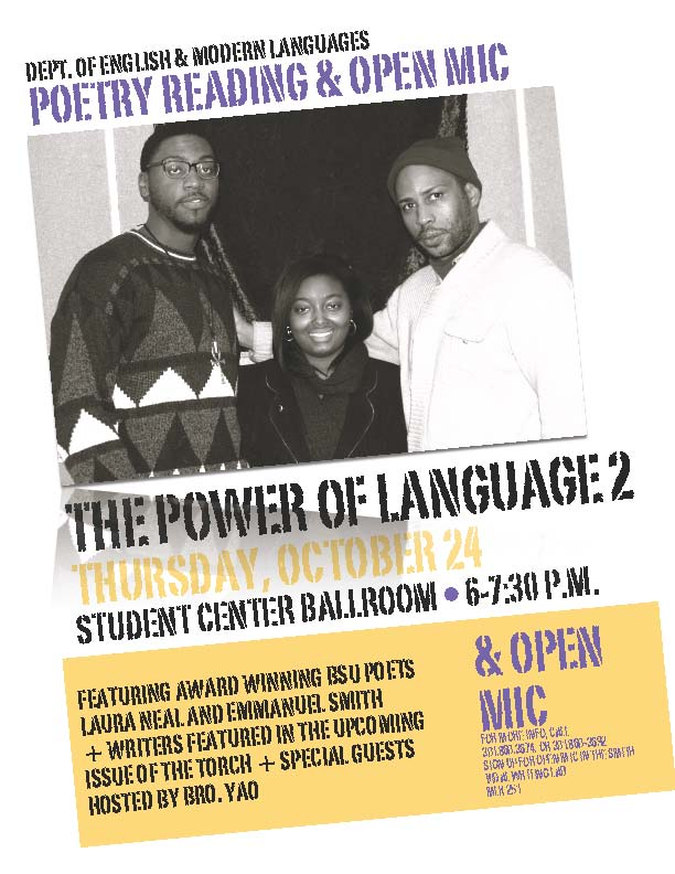 Poetry Reading Flier