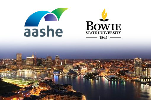 AASHE conference in Baltimore