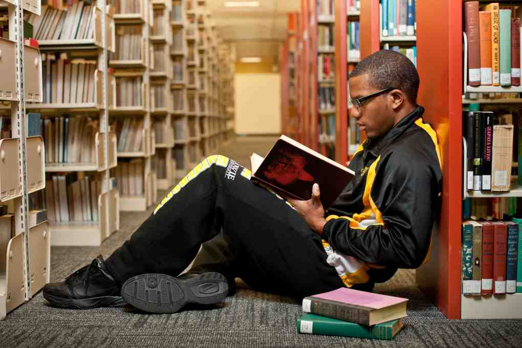 student at bowie state university