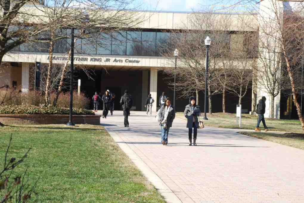 campus of bowie state university