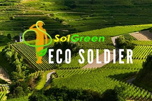 SolGreen Eco-soldier artwork