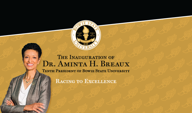 President Breaux Inauguration Graphic